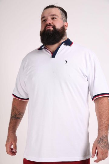 Camisa-polo-piquet-plus-size
