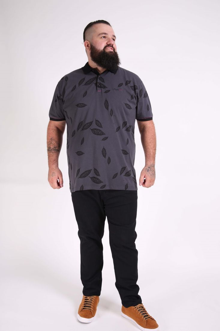 Camisa-polo-estampada-plus-size