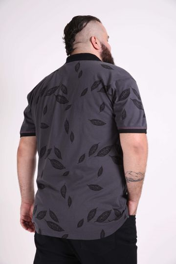 Camisa-polo-estampada-plus-size