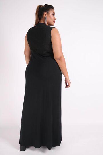 Vestido-longo-top-metalizado-plus-size