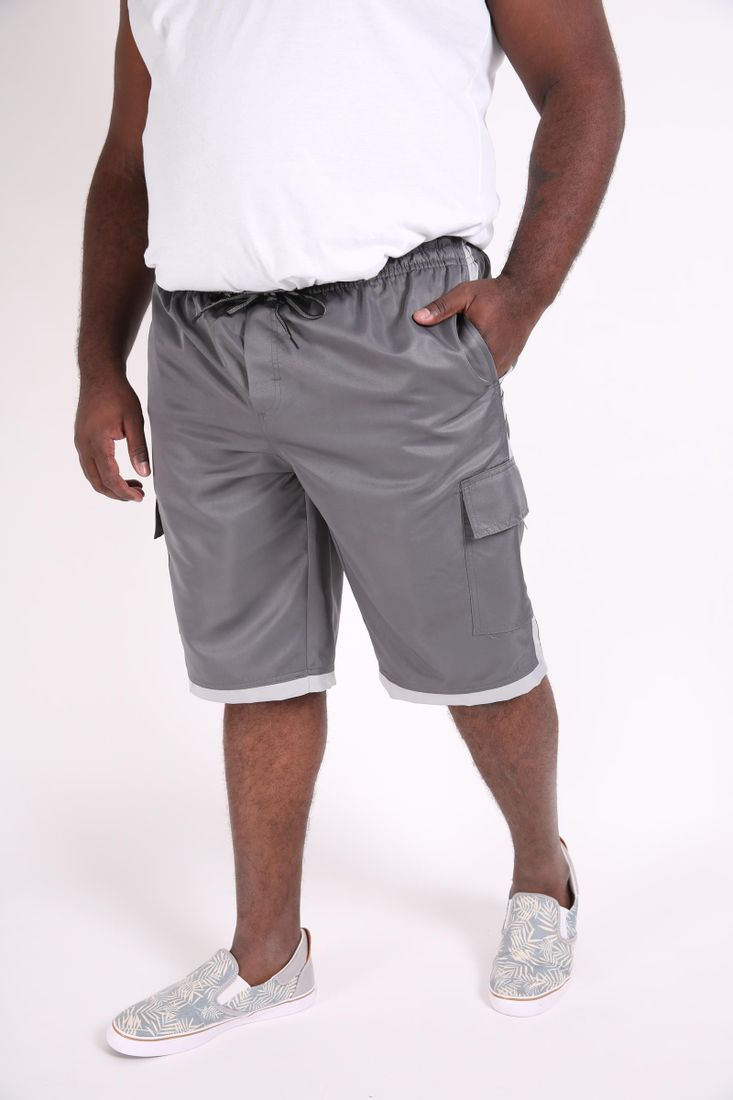 Bermuda-masculina-microfibra-com-bolso-lateral-plus-size