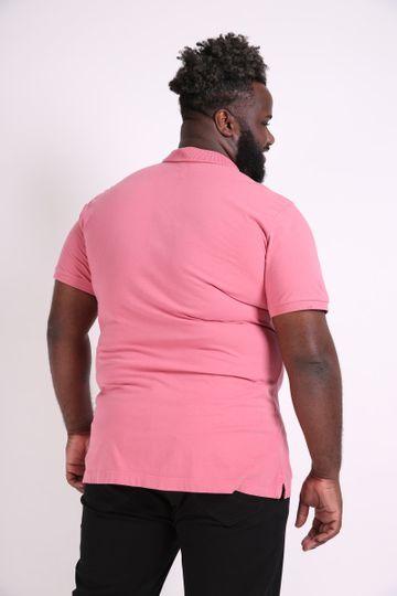 Camisa-polo-lisa-com-bolso-plus-size