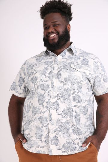 Camisa-manga-curta-estampada-plus-size