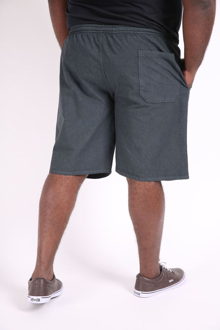 Bermuda-kanvas-masculina-plus-size