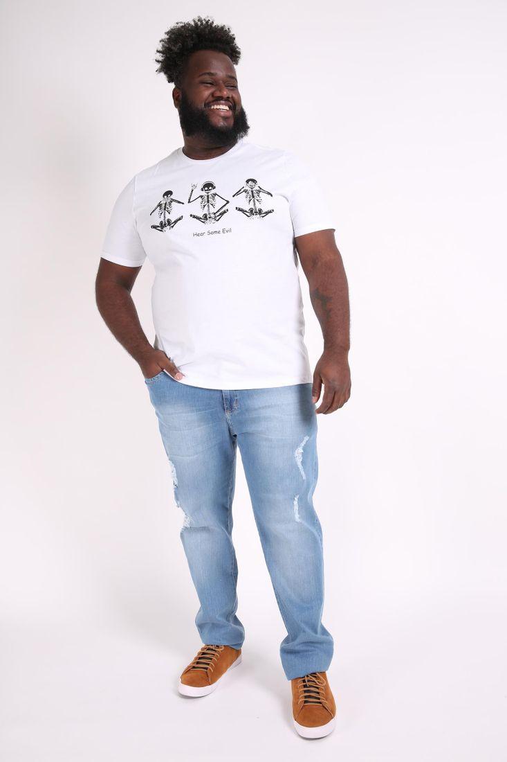Camiseta-esqueletos-plus-size