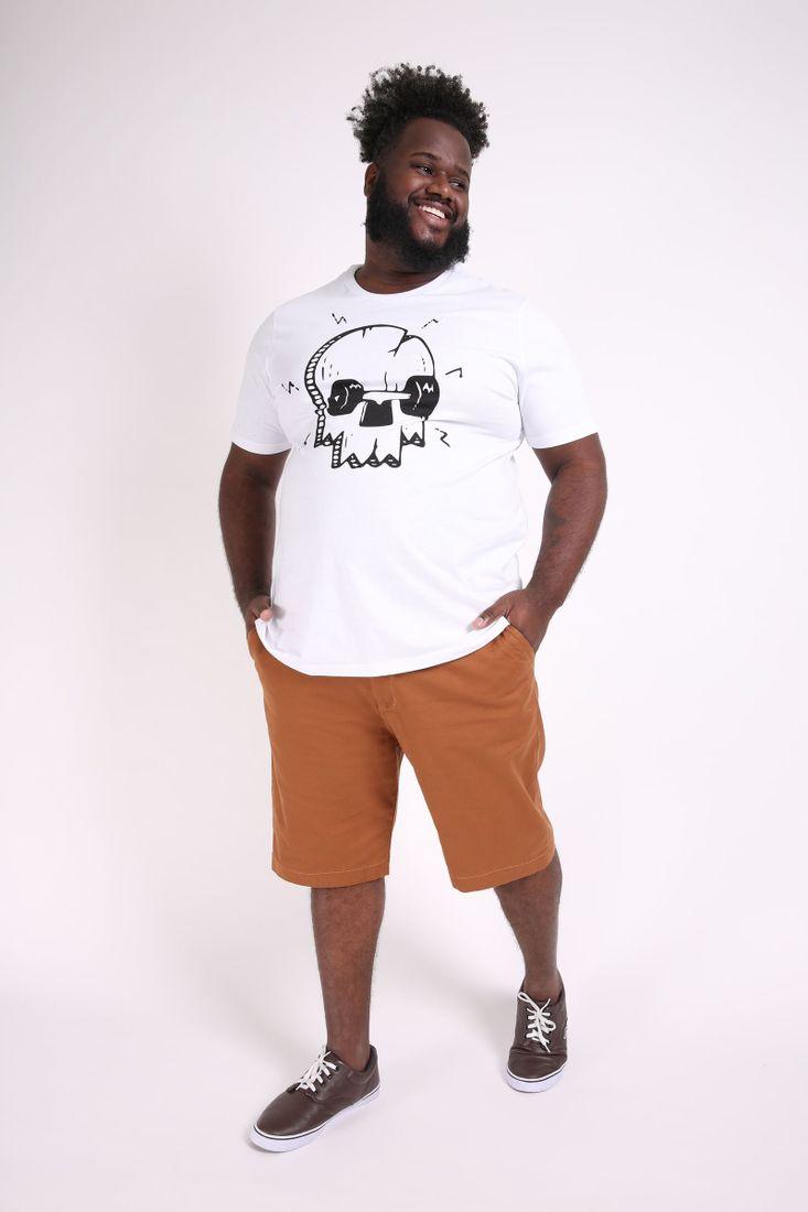 Camiseta-skate-caveira-plus-size
