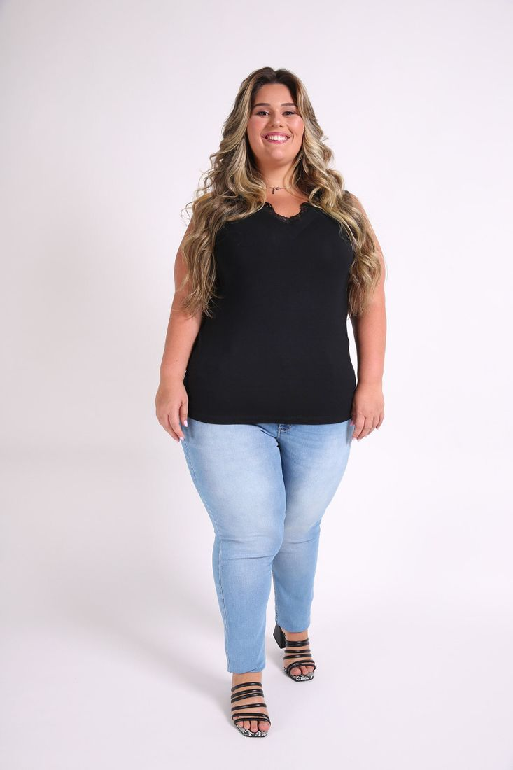 Regata-renda-plus-size