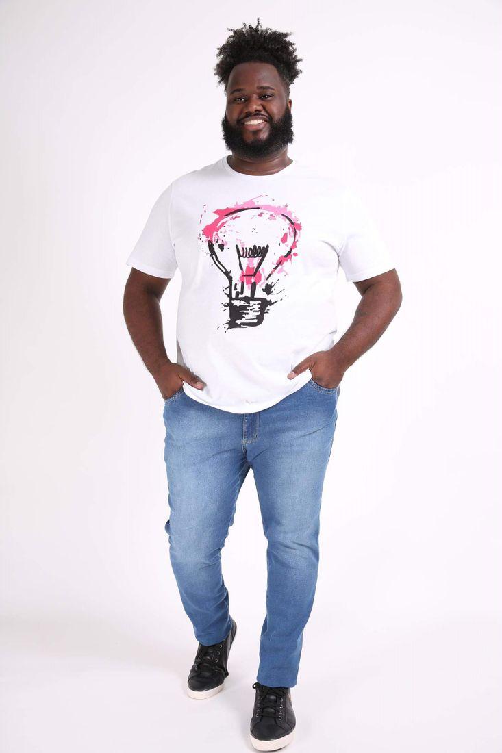 Camiseta-lampada-plus-size