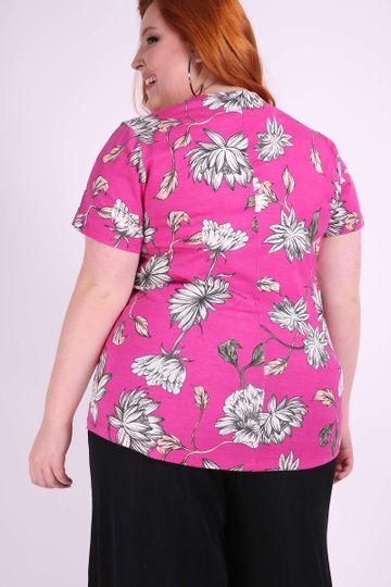 Blusa--floral-plus-size