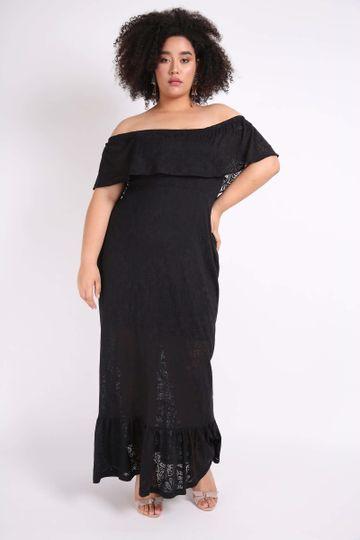 Vestido-longo-devore-plus-size