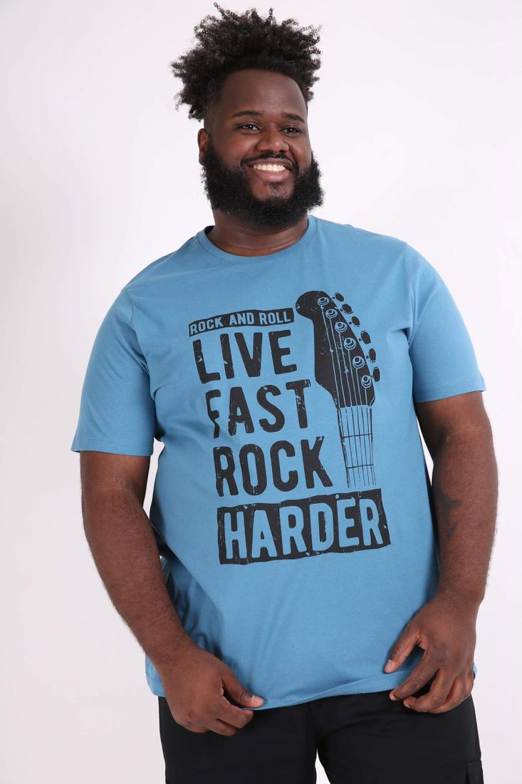 Camiseta-estampa-live-music-plus-size