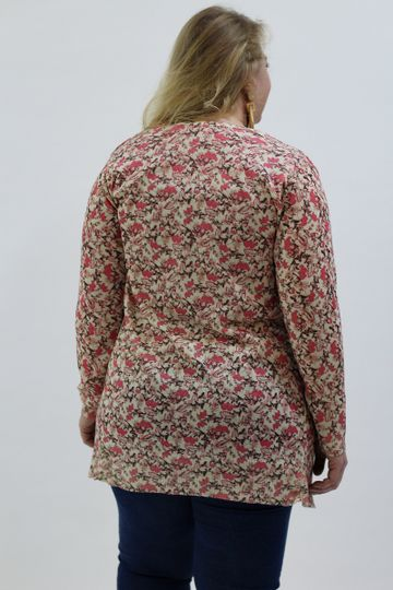 Cardigan-estampa-floral-plus-size