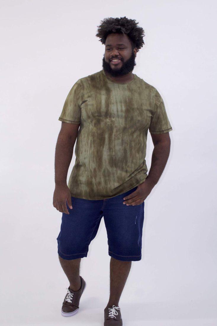 Camiseta-manchada-plus-size