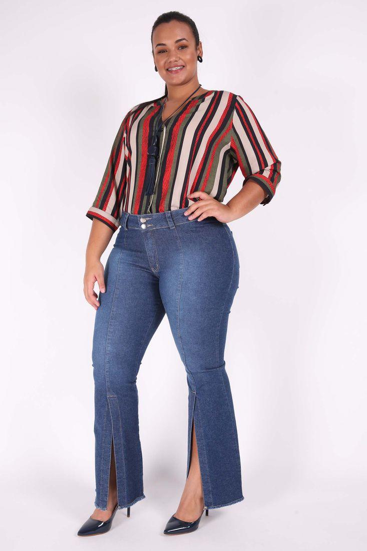 Calca-Jeans-Flare-Feminina-com-abertura-na-perna-Plus-Size_0102_2