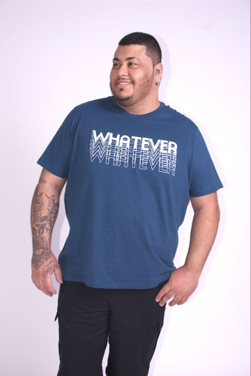 Camiseta-estampa-WHATEVER-plus-size
