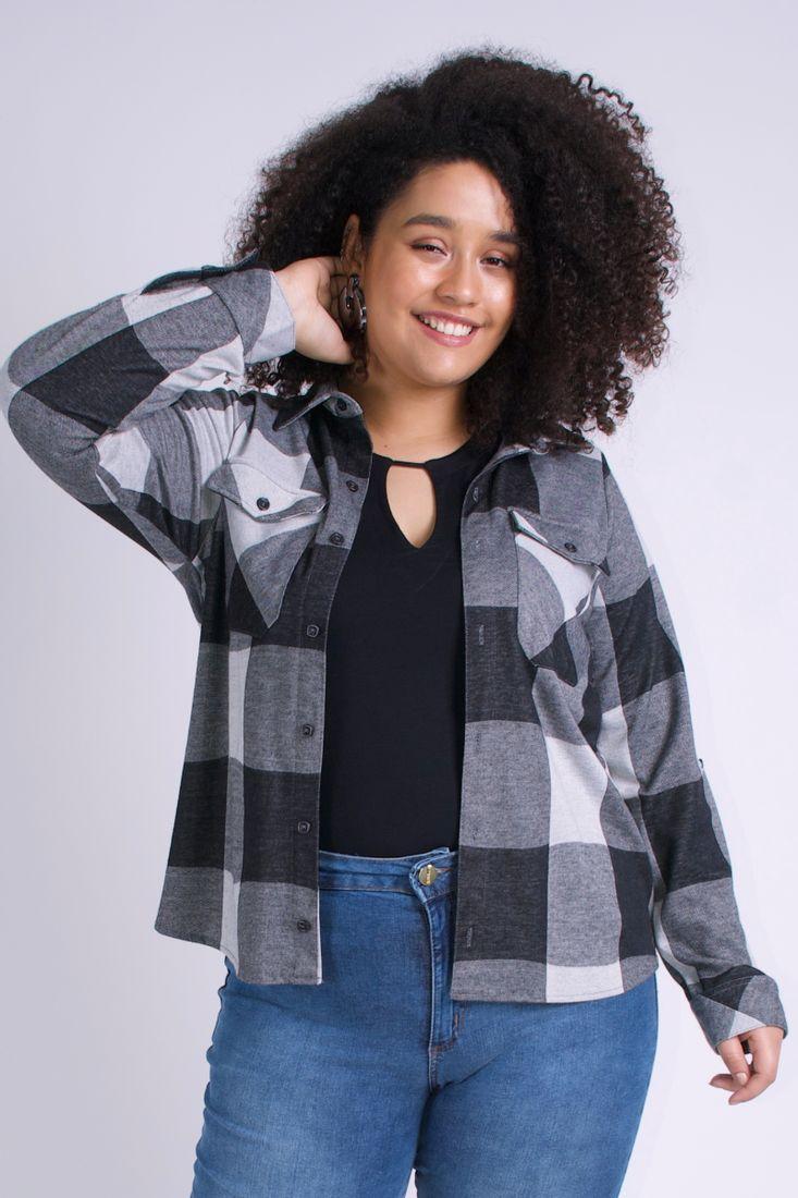 Camisa-xadrez-feminina-plus-size