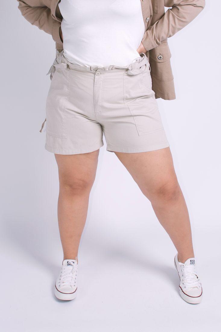Short-clochard-plus-size