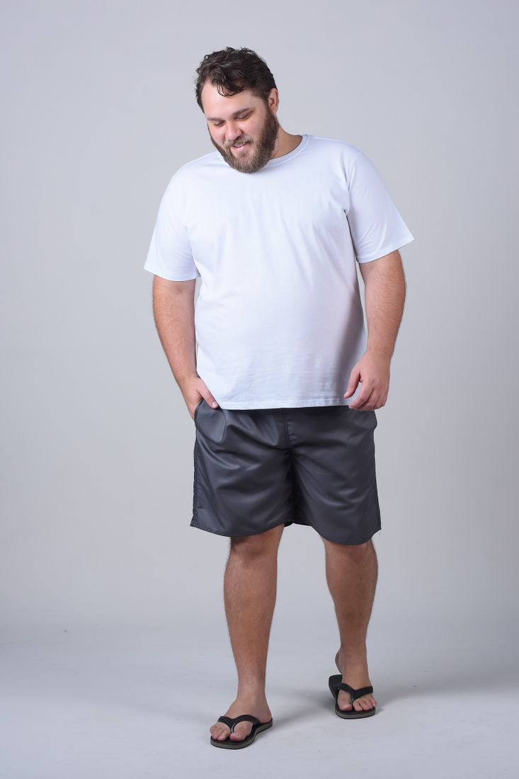 Bermuda-tactel-lisa-plus-size