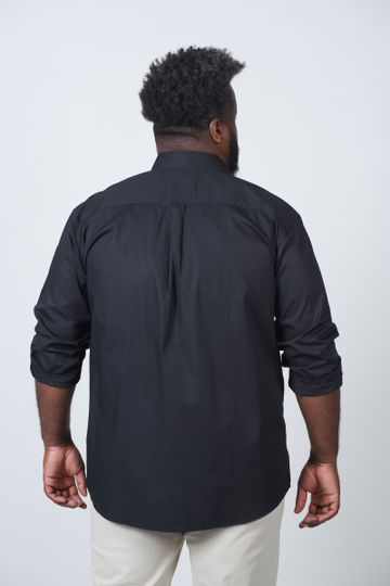 Camisa-lisa-manga--longa-plus-size