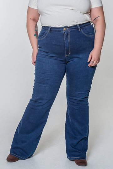 Calca-flare-plus-size