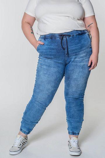 Calca-jogging-jeans-plus-size