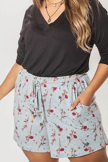 Shorts-tricot-estampado-plus-size