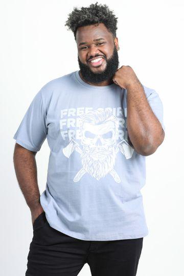 Camiseta-estampa-caveira-com-barba-plus-size