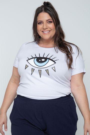 T-shirt-com-estampa-de-olho-grego-plus-size