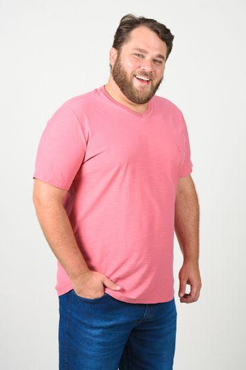 T-shirt-decote-v--plus-size